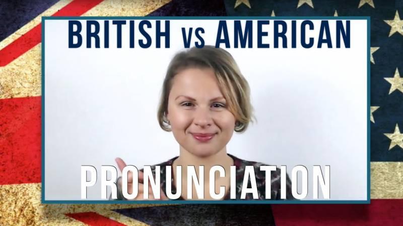 British American Pronunciation Differences