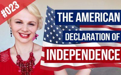 La Declaración de Independencia americana
