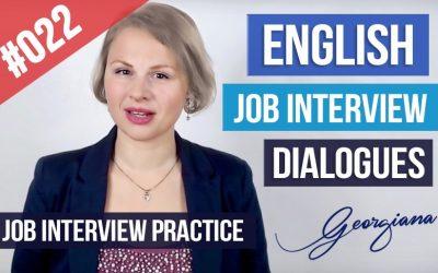 Ejemplos Diálogos Entrevista de trabajo en Inglés