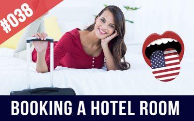 Reservar habitación de hotel en inglés