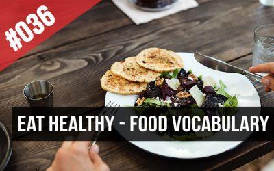vocabulario comida ingles restaurante