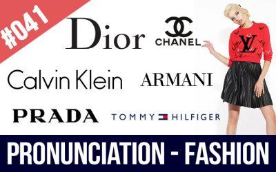 pronunciar marcas de moda
