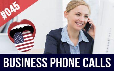 Llamadas telefónicas en inglés