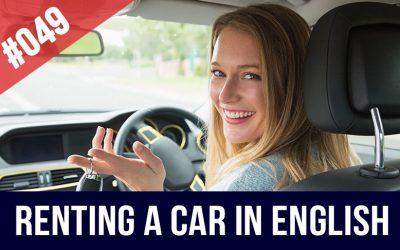 alquiler coches en inglés