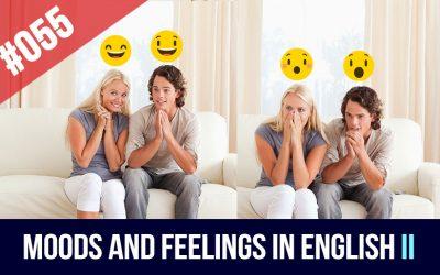 Estados de ánimo en inglés